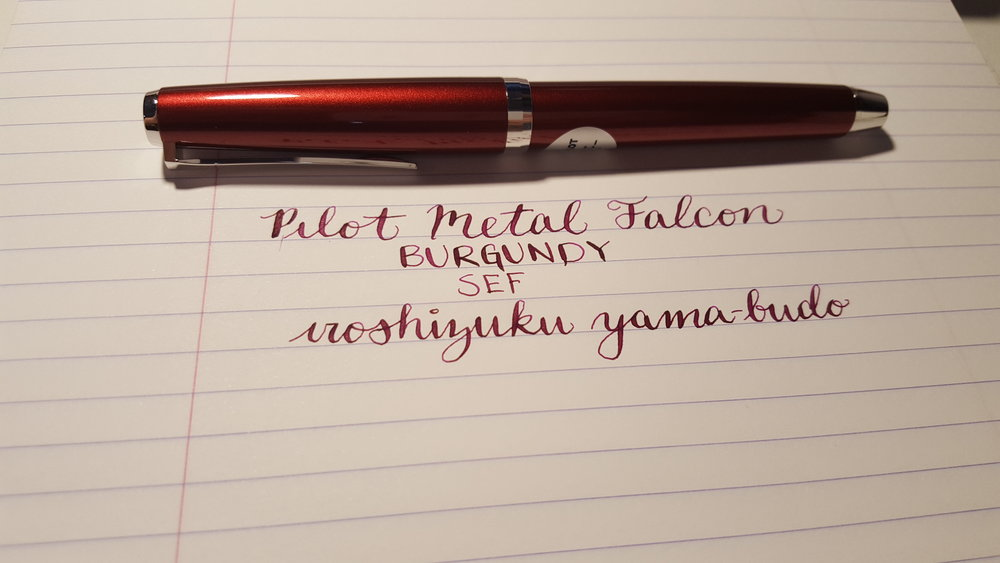 Fountain Pen Committment
