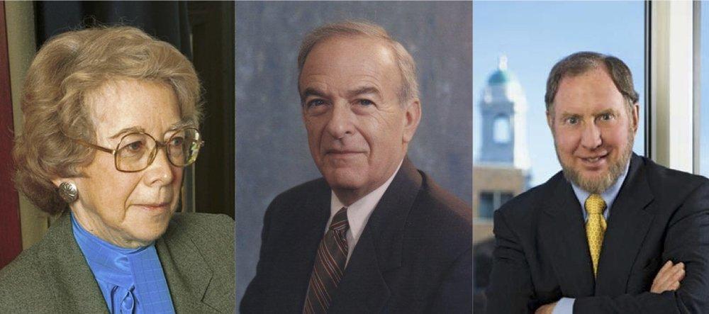 Pauline Newman, Richard L. Ottinger,and Robert D. Putnam