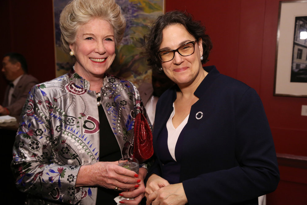 Elbrun Kimmelman and Angela Cason