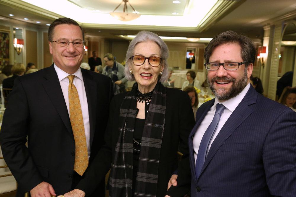 Fred Larsen, Barbara Tober, Jon Parrish Pede