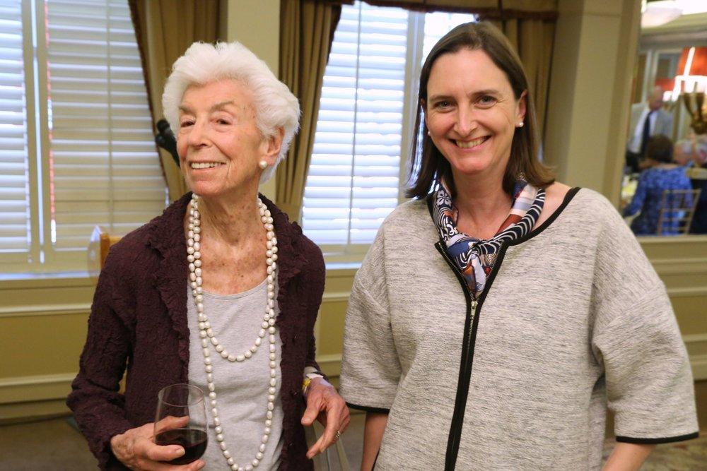 Joan Davidson, Sara Ogger