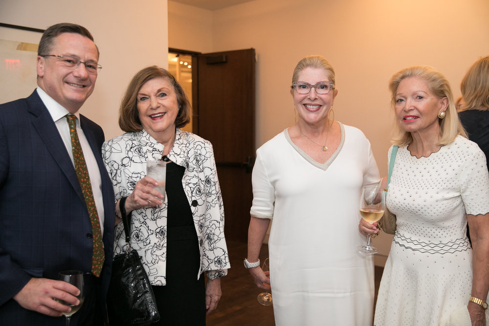 Fred Larsen, Joan Bloom, Michelle Larsen, Ursula Gwynne