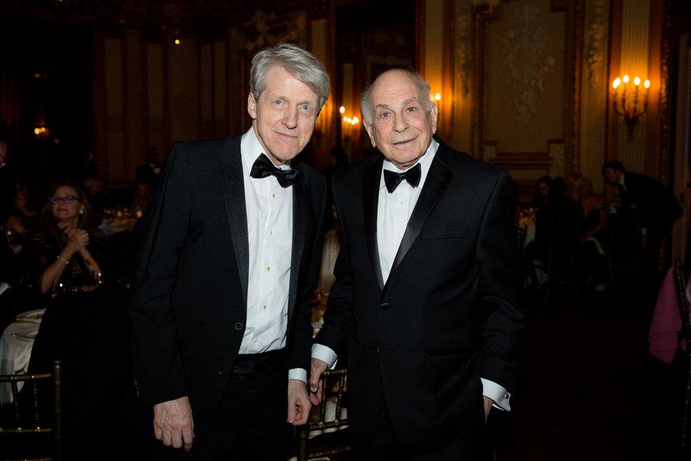 Robert Shiller, Daniel Kahneman