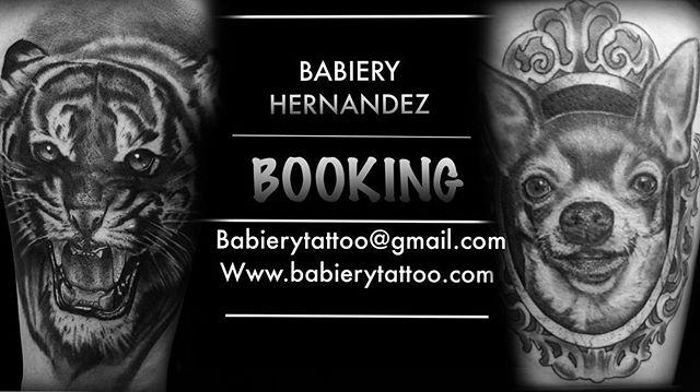 NOW BOOKING @babierytattoo  CONTACT US 📩babierytattoo@gmail.com ☎️646.456.9187 www.babierytattoo.com