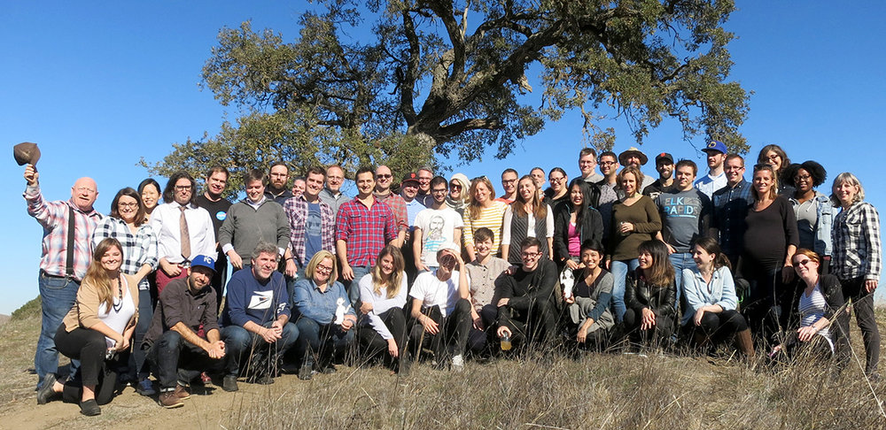 The folks from the San Francisco design company bond at the Ranch.