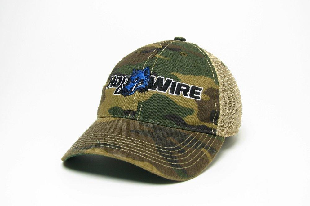Camo Legacy Old Favorite Trucker Hat — HogWire a5939e697fe