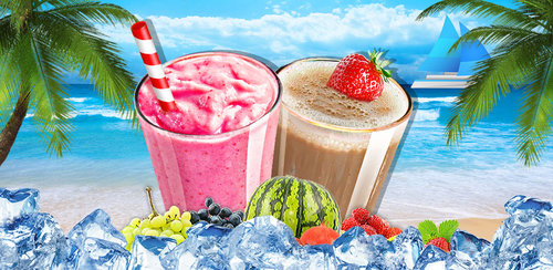 Smoothies Maker  People CANNOT live without ice in SUMMER. So you wanna try smoothies???