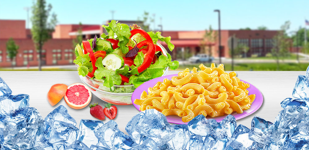 School Lunch Food!  Ever wanted to have control over what you eat at school lunch? Now you can!