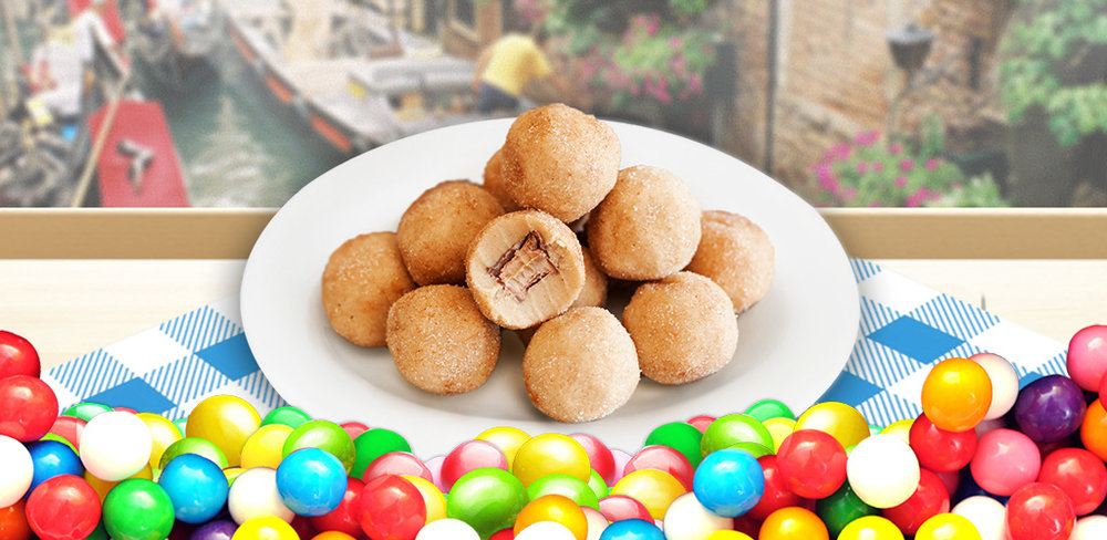 Cookie dough Bites Maker  Make & bake yummy dough and decorate with candies, chocolate and fruits!
