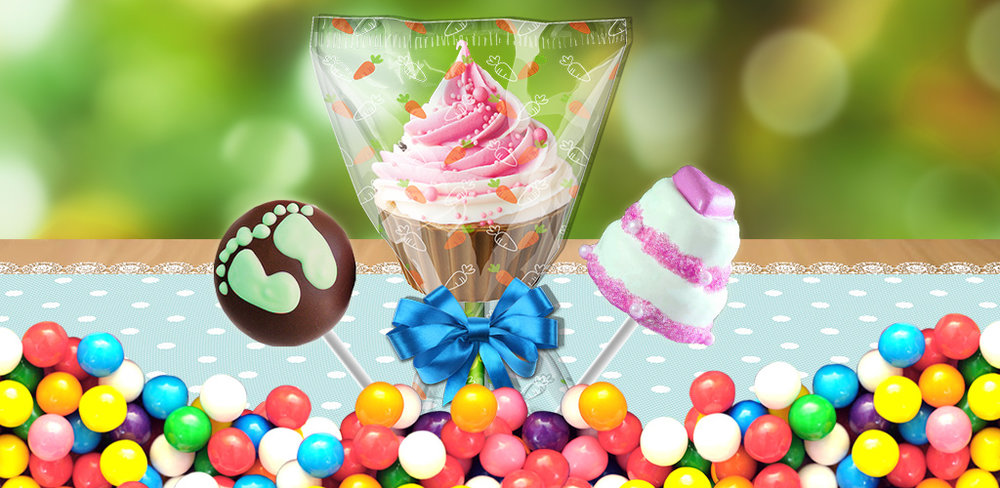 Cupcake Pop Mania!  Make and bake cupcakes. Put on a stick & decorate with candy, fruits & chocolate!