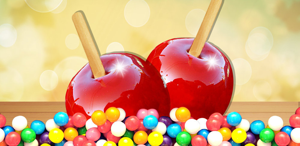Candy Apples Maker  Eat candy & fruit together! Sweet the crisp sugar cover & juice the apple inside!