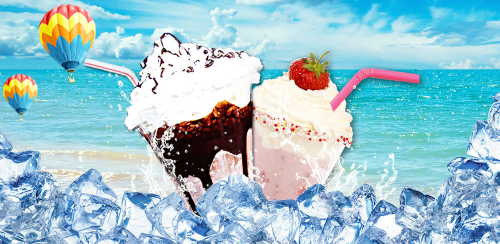 Milkshake Maker - Free!  Make the Best summer drink ever! Blend the ice and add the juice! Shake it now!
