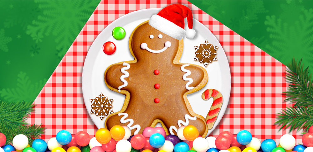 Christmas Bakery! Gingerbread  Create, bake, shape, decorate and design your very own gingerbread men with this amazing xmas app, Christmas Gingerbread Cookies!