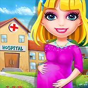 My New Baby Hospital - Mommy Care Doctor Game Help take care of the pregnant mommies and care for the new babies after the birth.
