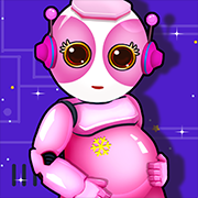 My Baby from the Future - Robot Family Project  Robot mommy is pregnant with a brand new baby! New gears, new bolts, new life…how cool!