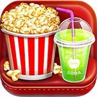 Movie Night Party - Popcorn Maker Cooking Games  It's Movie Time. What's better than go to movies with super sweet yummy snacks? Popcorn, of course is the best choice..