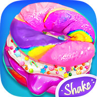 Rainbow Sweet Desserts Maker!   Cooking Food Maker Girl Games