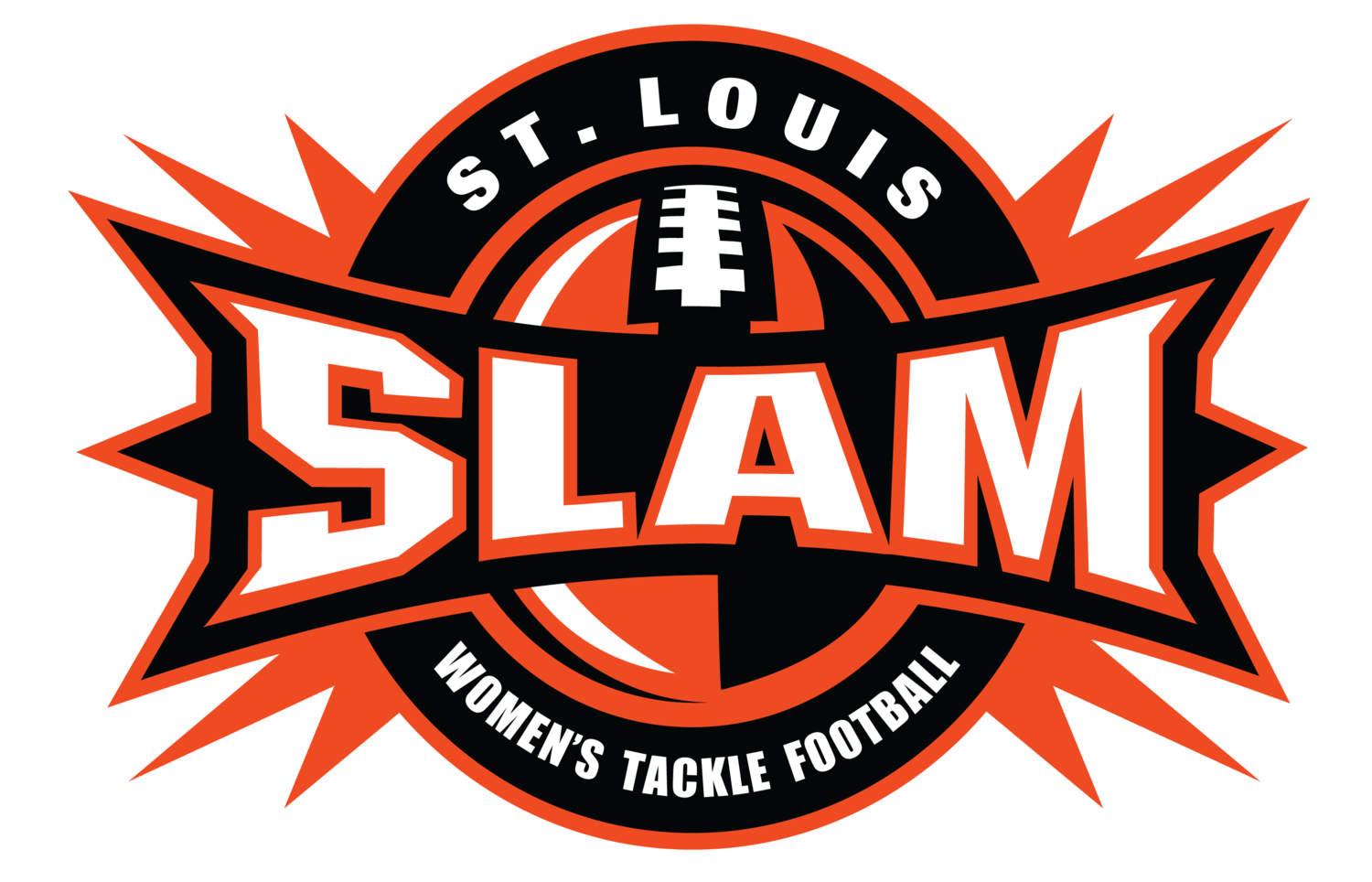 official website of the st louis slam women s football