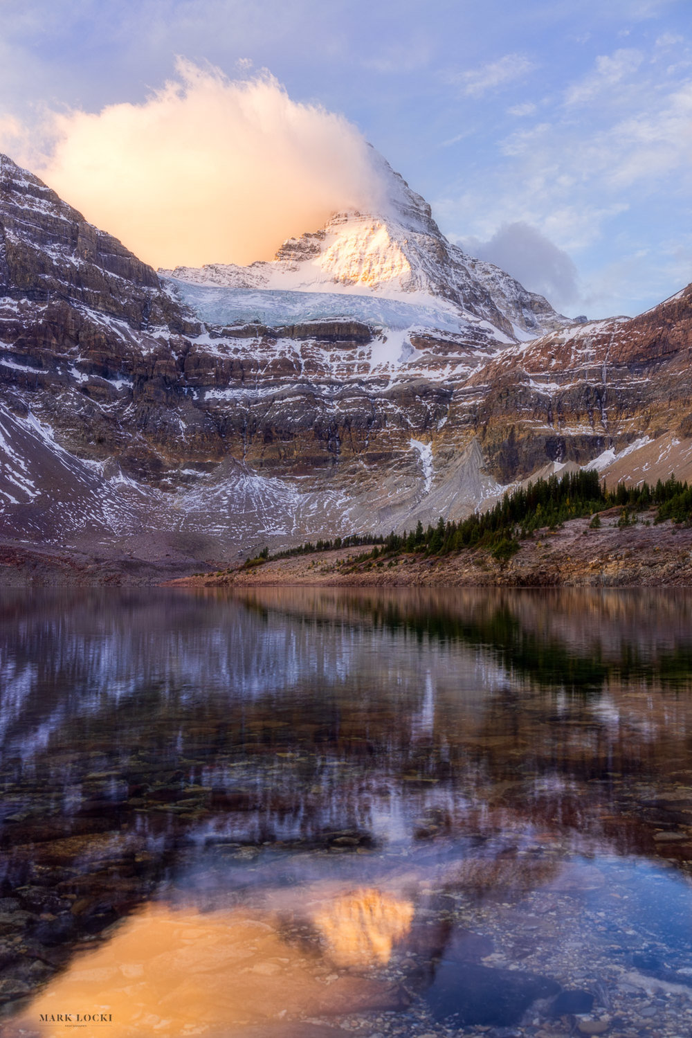 Assiniboine Sunrise