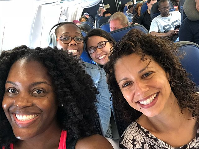 SQUAAAAD! George Mason University checking in for the National Conference on Race and Equity in Higher Education! #NCORE2018 #NCORE18
