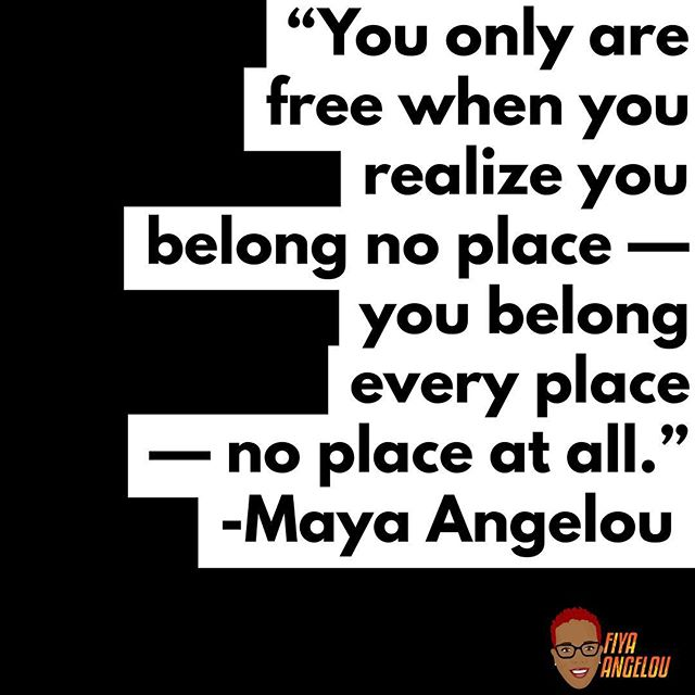 I'm bringing my full self with me everywhere I go. Boldly and unapologetically taking up space. Make room or I'll create it. #backbackgiveme50feet #movebihgetouttheway #Safespace #FiyaAngelou #ForTheCulture