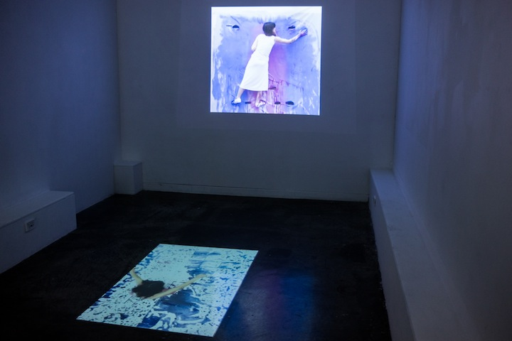 Installation view of 'Drawing out Substance' which showed as part of the group exhibition 'Insite' at First Site Gallery, March 2014. Photo by Georgia Quinn.