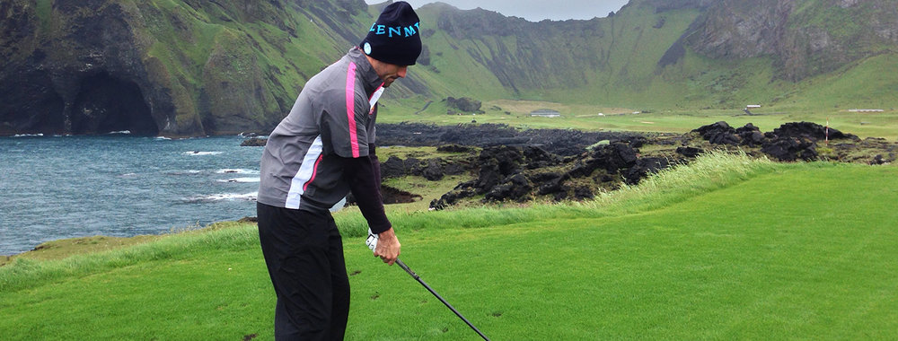 Golf in Iceland -