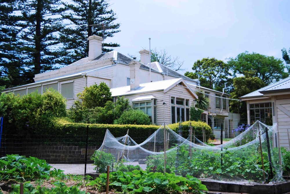 Kitchen Garden & House