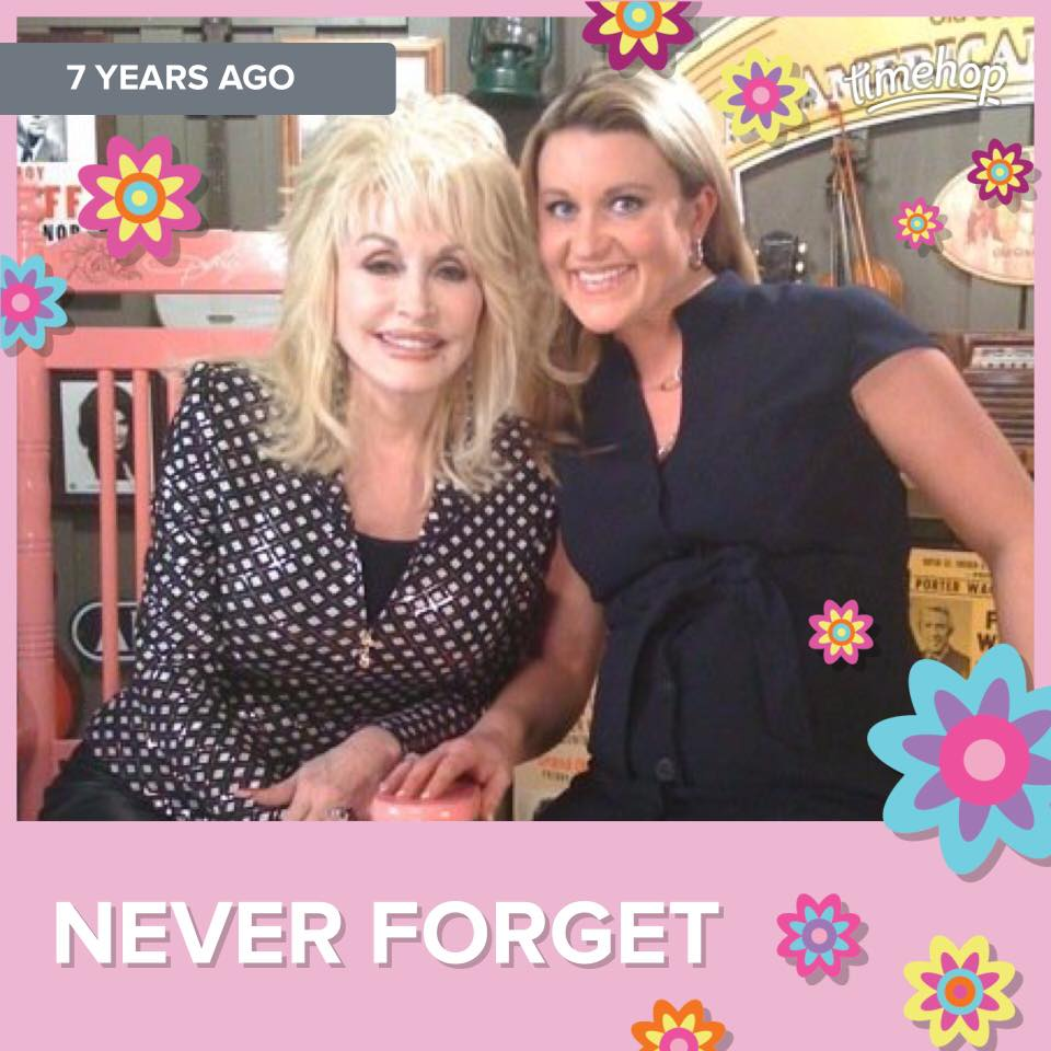 Kelly Sutton and Dolly-the day she got the Pink Rocking Chair