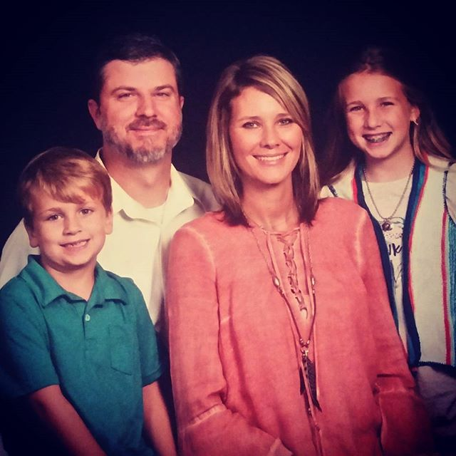 Susannah and her sweet family