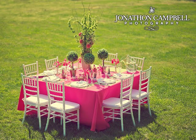 Spring Luncheon Tablescape