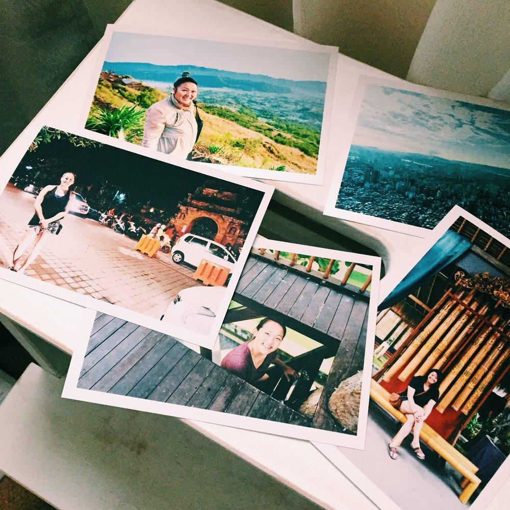 Photographs of Bali, Indonesia and Taipei, Taiwan. January 2017.