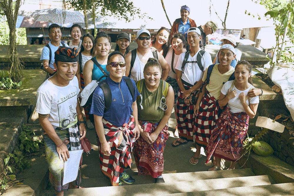 Family & Friends - Climbing the six temples of Mount Lempuyang, Bali