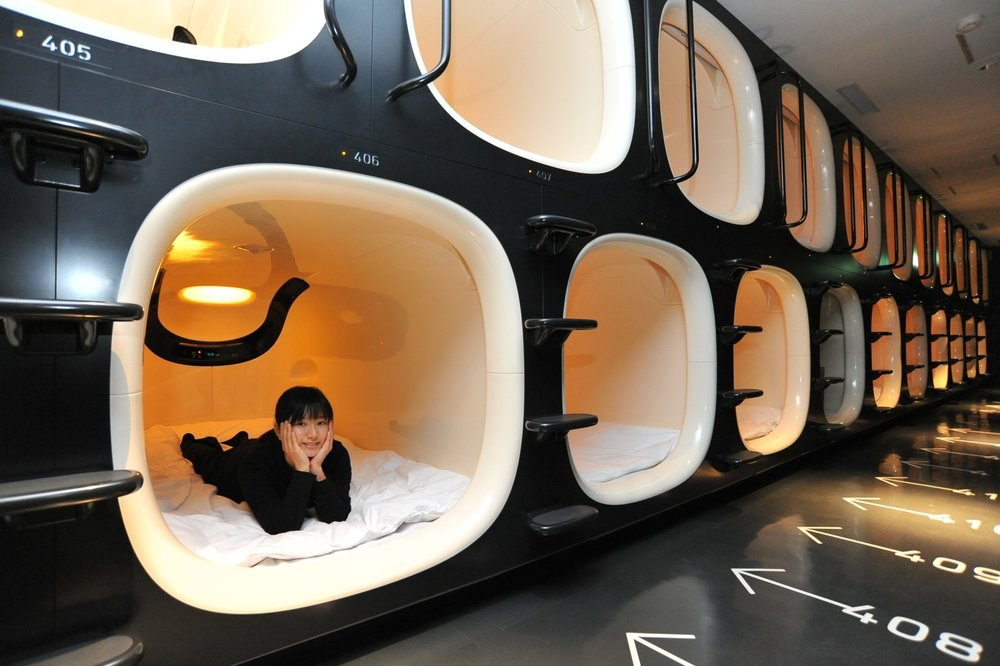 photo credit: 9h nine hour capsule hotel