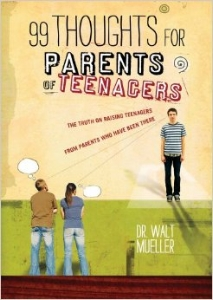 These are short thoughts on all sorts of topics that you will encounter while raising a teenager. While they may not solve the world, they will help you remain sane through the tough years. Click the book to see ordering information.