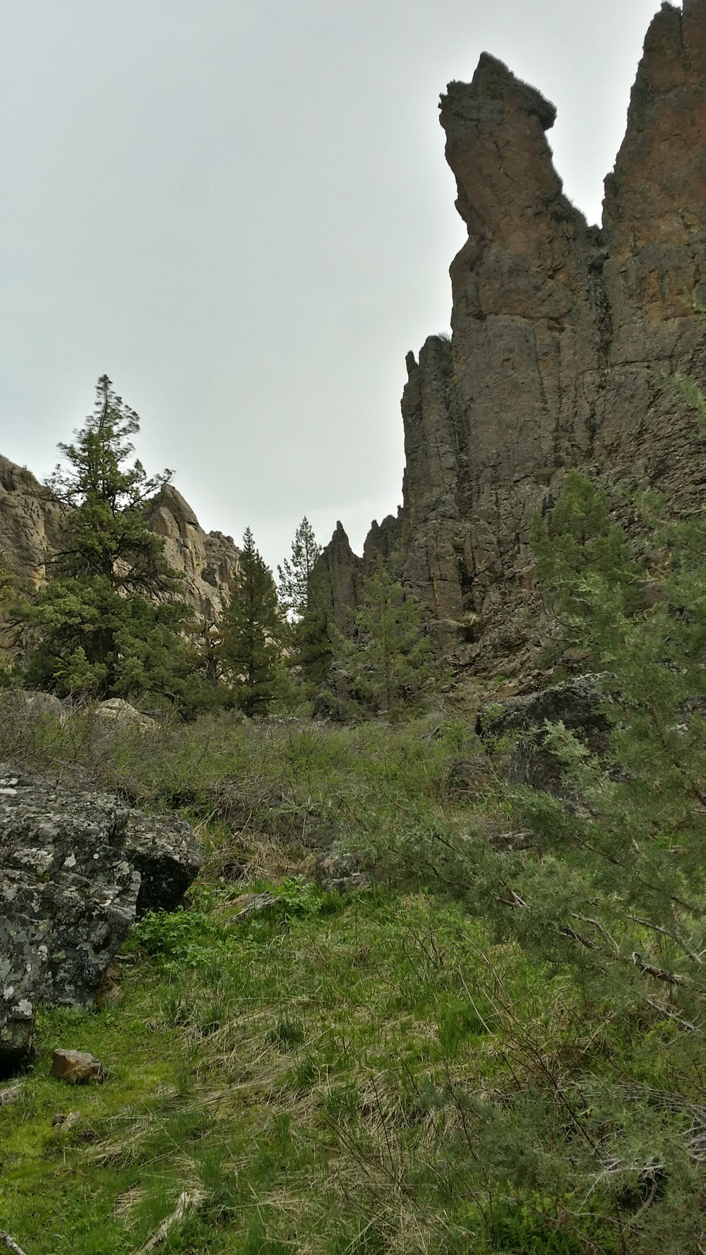 Towers and hoodoos around every corner