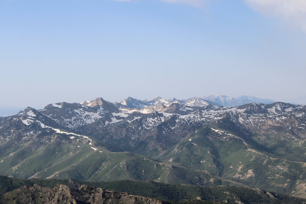 """The Ruby Mountains . . . not what I think of when I think of """"Nevada"""" - although I suppose the name kinda fits."""