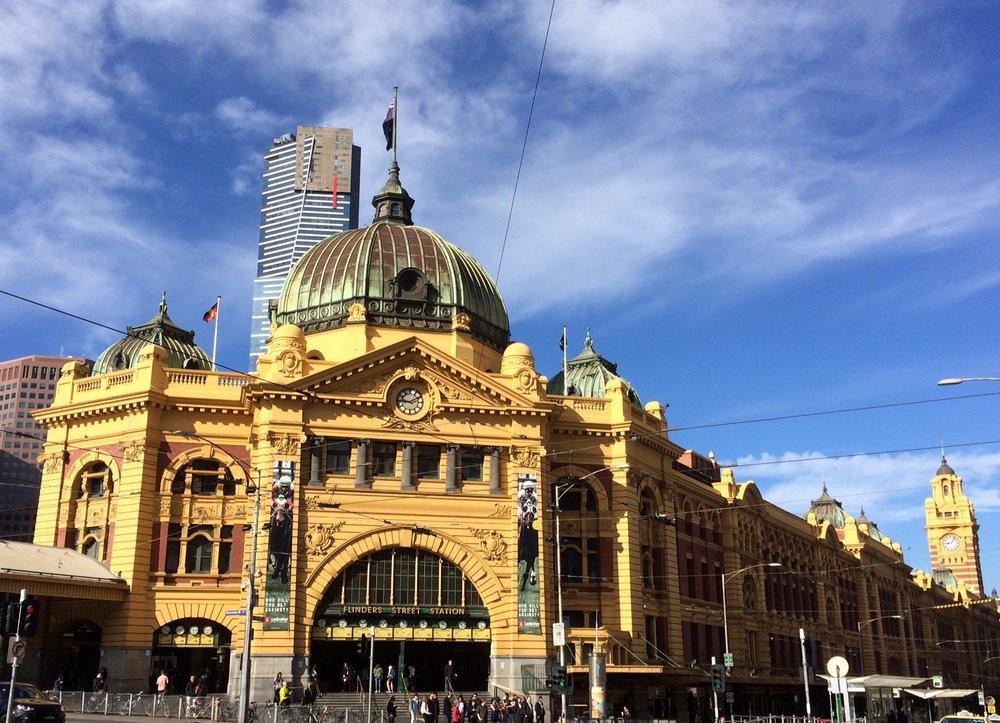a snapshot of the RUn around Melbourne tour
