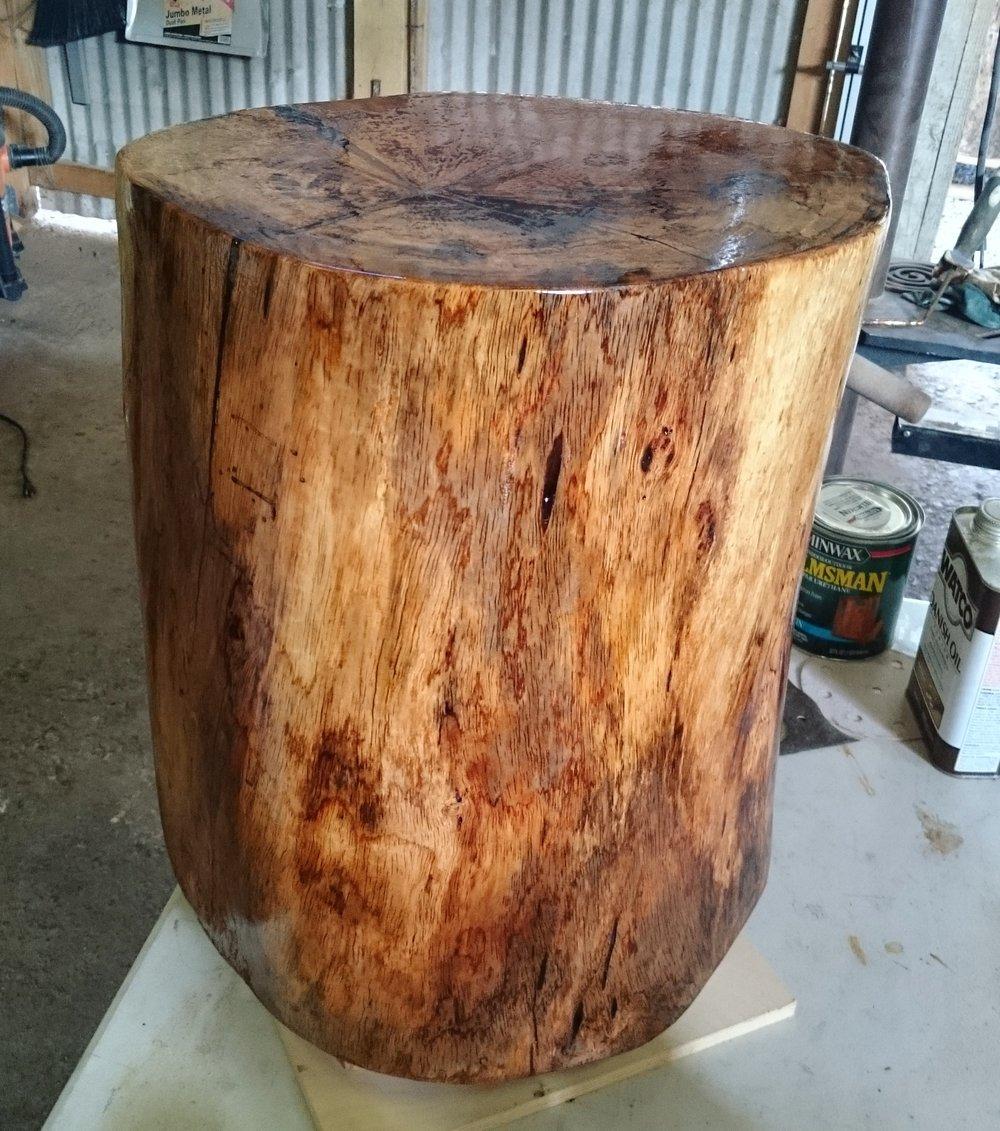 Mango log stool.jpg