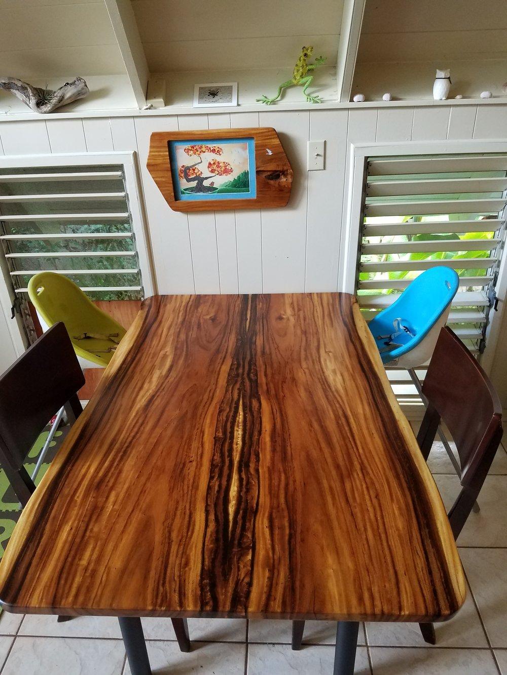 Monkey Pod bookmatch Dinning Table.jpg