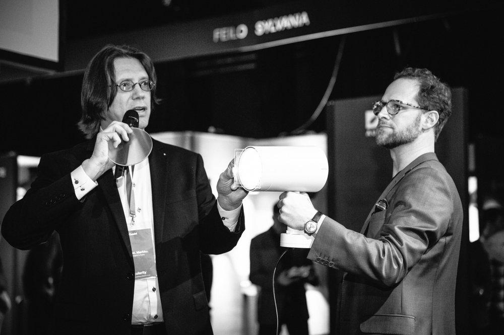 Markku Varsila ja Lorenz Backman Light Picthingissä. © VILLE MALJA