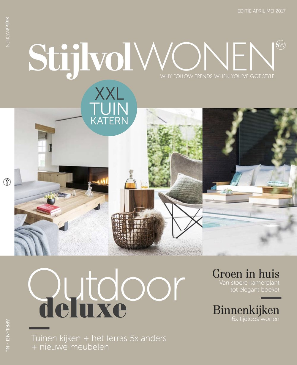 Luxurious estate surrounded by nature - Stijlvol wonen, April - May 2017