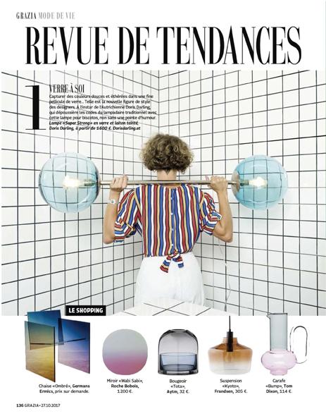 GRAZIA Magazine, France, November 2017