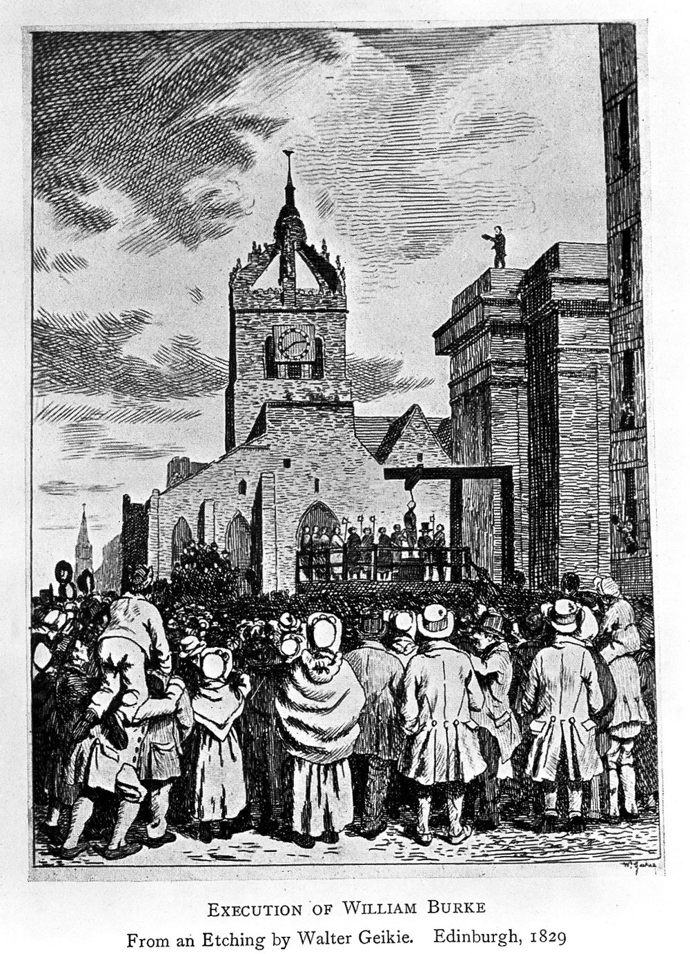 Execution of William Burke, Edinburgh - Wellcome Trust