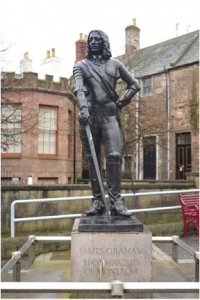 Statue of James Graham on Castle Street, Montrose. Source: Wikimedia Commons.