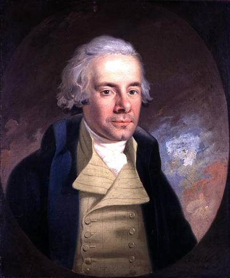 WHM146809 Portrait of William Wilberforce (1759-1833), 1794 (oil on canvas) by Hickel, Anton (1745-98) oil on canvas © Wilberforce House, Hull City Museums and Art Galleries, UK. German, out of copyright