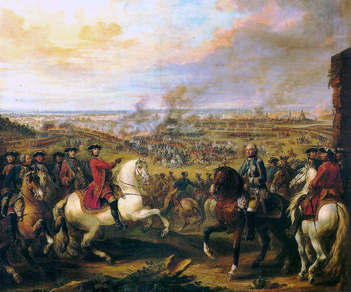 Battle of Fontenoy 1745. 1747 (Salon de 1757).  Image courtesy of Wikimedia Commons.