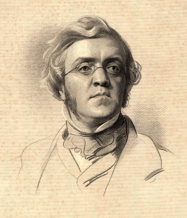 F. Holl, after Samuel Lawrence: William Makepeace Thackeray. Steel engraving, published by Smith, Elder & Co., 1853. Image Courtesy of Wikimedia Commons.