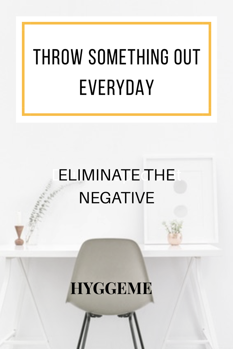 Eliminate the negative focus on the positive .