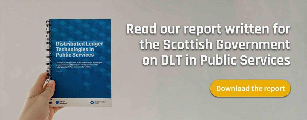 Scottish Government report ad